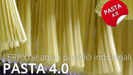 Pasta 4.0: l'ERP per i pastifici